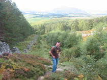 Kingussie, Monadhliath, walking