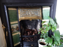 Fireplace, Victorian, Glengarry, Kingussie, B&B, Inverness, Highlands