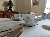 Dining room, Glengarry, B&B, Kingussie, Inverness, Highlands, Wedgwood