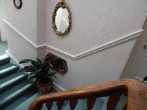 Canadian Pine, Glengarry, staircase, Kingussie, B&B, Inverness, Highlandss