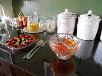 Breakfast, Glengarry, Kingussie, Highlands, Fruit, B&B, Yoghourt