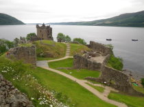 Urquhart, Castle, Loch, Ness, Nessie, B&B, Glengarry, Bed, Breakfast, Kingussie, Highlands