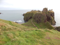 North East 250, Dunnotar, Castle, walk,  view, scenic