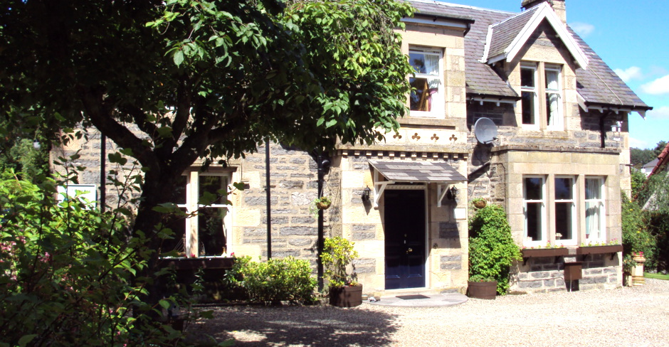 Front of house, Kingussie