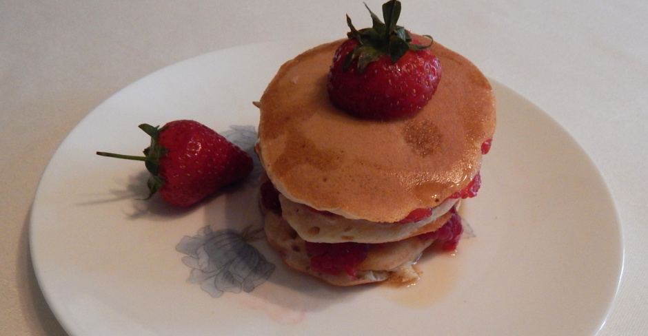 Strawberry, Pancakes,Maple, Syrup, Glengarry, Breakfast, B&B, Bed, Kingussie, Highlands